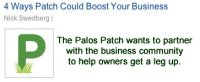 Palos Path wants to partner with the business community to help owners get a leg up - Logo