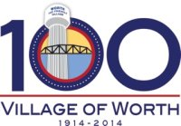 Village of Worth 1914-2014 Logo