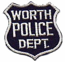 Early Worth Police Patch