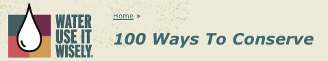 100 Ways to Conserve