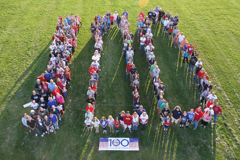 Worth Centennial 100 Group Photo July 2014